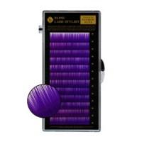 purple lash tray