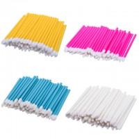flock tip applicator micro brush lip gloss